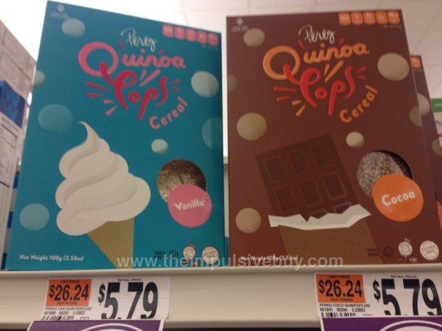 Perez Quinoa Pops Cereal