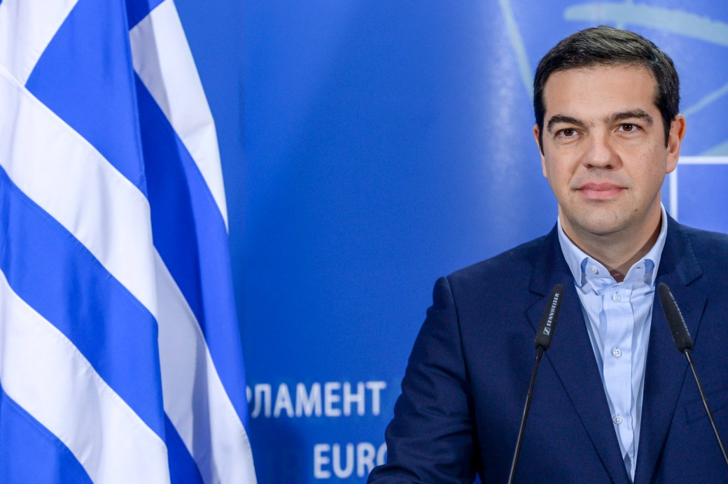Press Point President Schulz and PM Tsipras