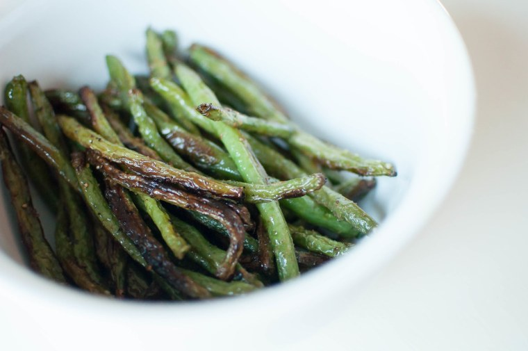 roasted green beans 2