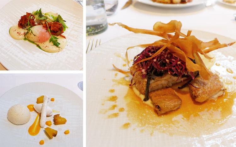 roux at the landau du jour menu