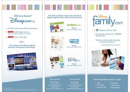 Disney Family.com Trade Show Booth