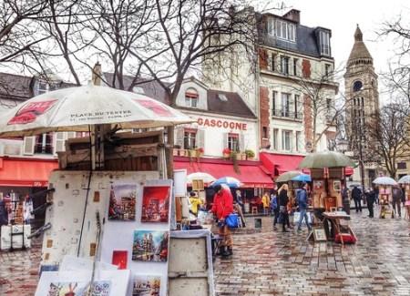 Place du Tertre, Parigi
