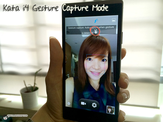 kata i4 gesture capture mode