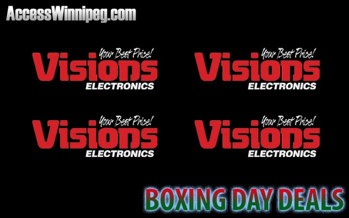 Visions Electronics Boxing Day Deals 2017