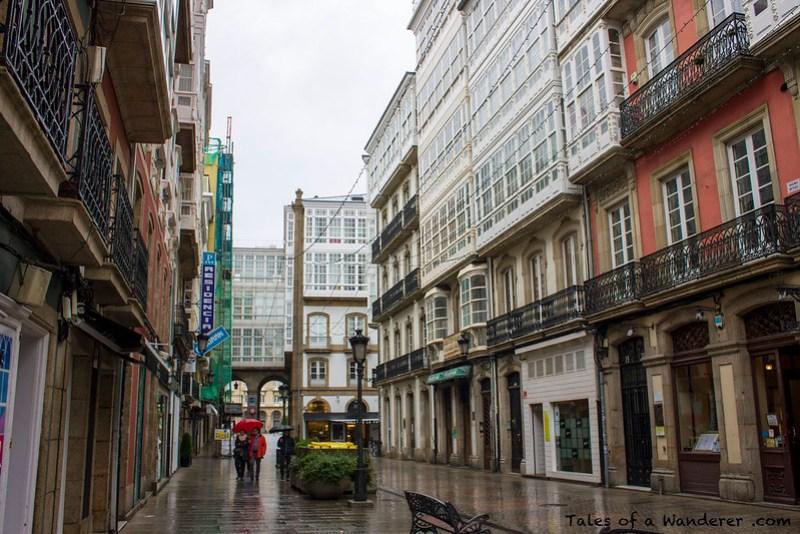 A CORUÑA - Rúa Franja