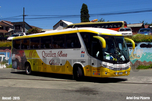 Queilen Bus - Ancud (Chile) - Marcopolo Viaggio 1050 G7 / Mercedes Benz (GKPB18)