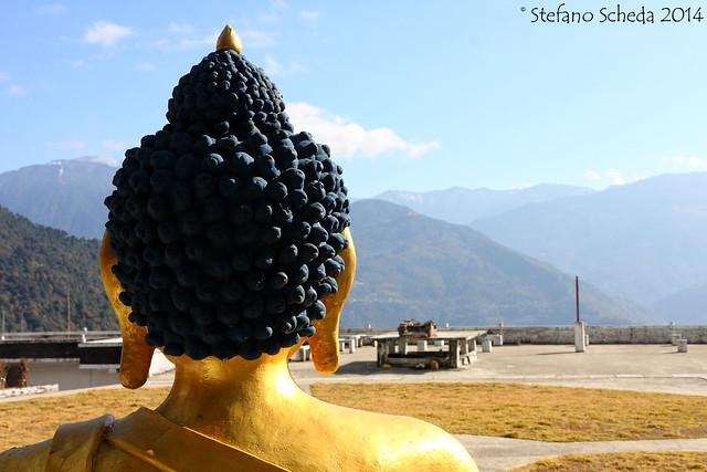 Buddha Shakyamuni in Khinmay Gompa - Tawang, India