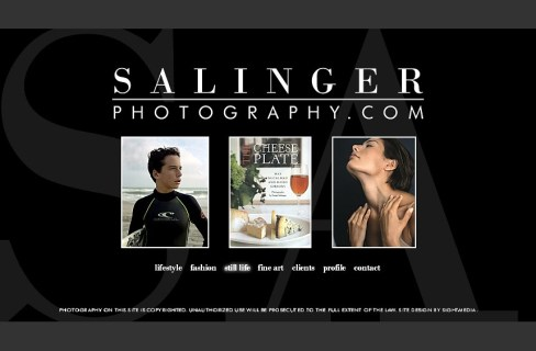 Salinger Photography Site