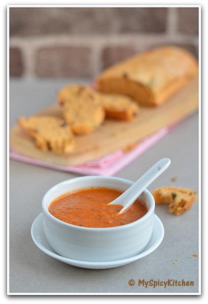 Homemade tomato soup, tomato soup, Michael Chiarello's homemade tomato soup,