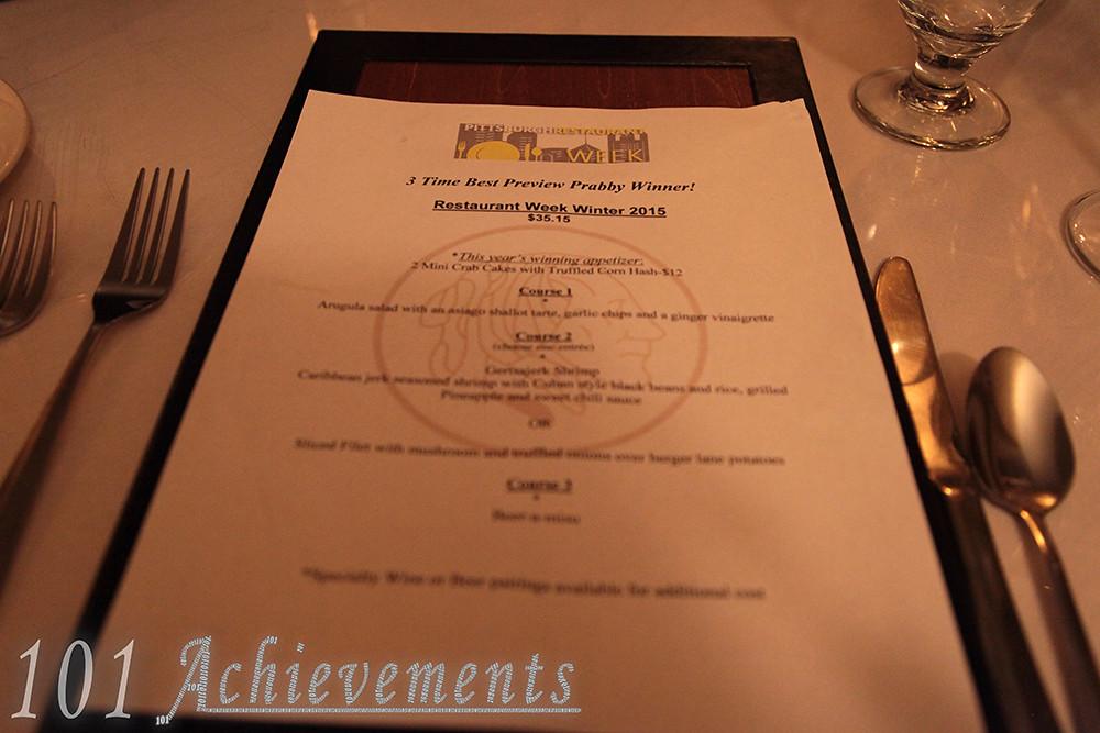 Pittsburgh Restaurant Week The Wooden Nickel Is Golden 101
