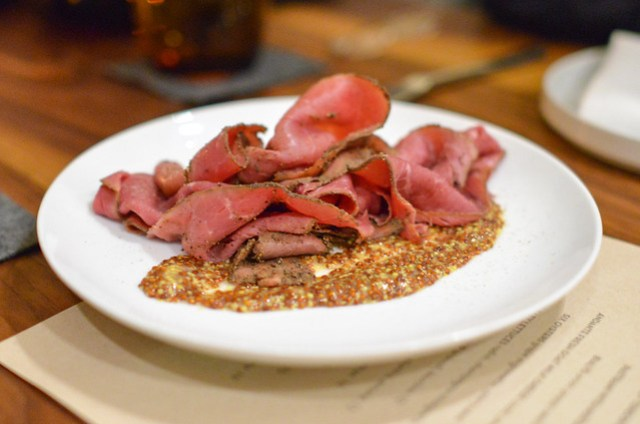 PASTRAMI WITH MUSTARD