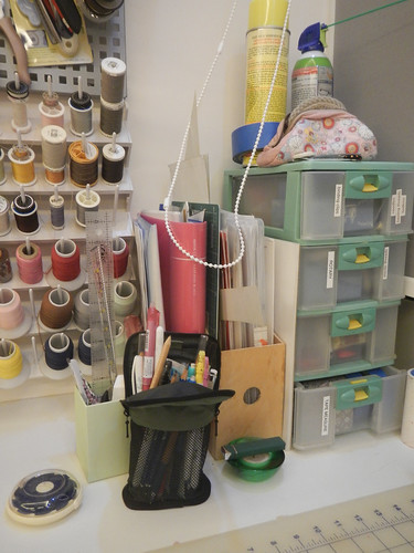 Midnight Crafts - Sewing Space Tour