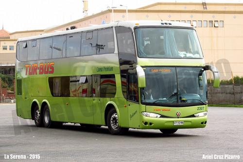Tur Bus - La Serena (Chile) - Marcopolo Paradiso 1800 DD / Mercedes Benz (CTYZ86)