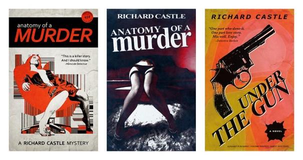 ABC.com   CASTLE Book Covers (proofs of concept)