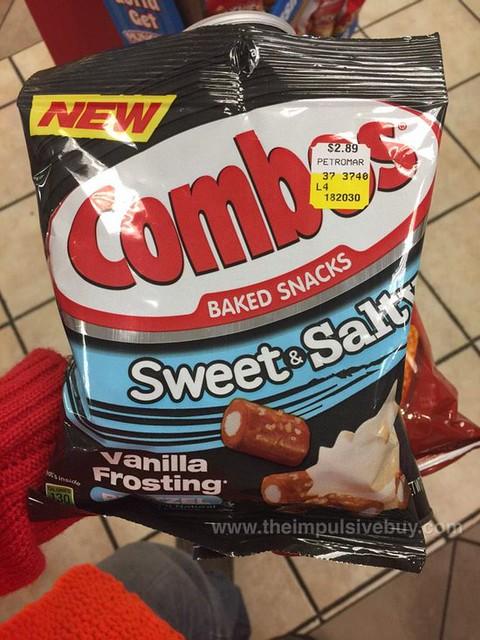Combos Sweet & Salty Vanilla Frosting Pretzel