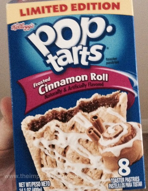 Kellogg's Limited Edition Frosted Cinnamon Roll Pop-Tarts