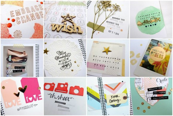Art journaling ideas by Amelia Writes