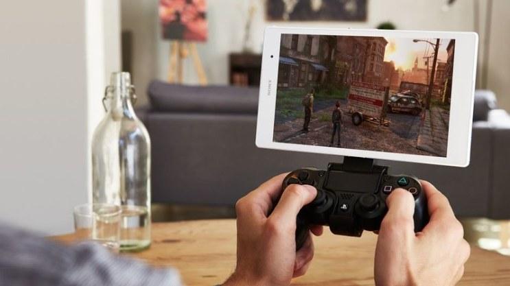 Xperia Z3 tablet remote play