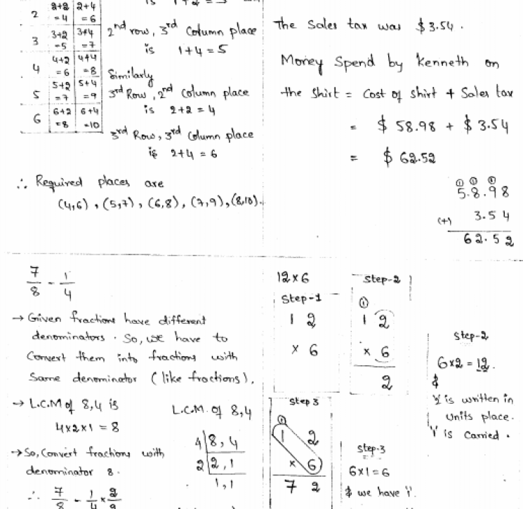 Common Core Math 4 Today Workbook Grade 5 Solutions
