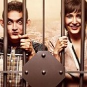 Aamir Khan And Anushka Sharma In Jail In Movie PK 2014 - Stylish HD Wallpapers.