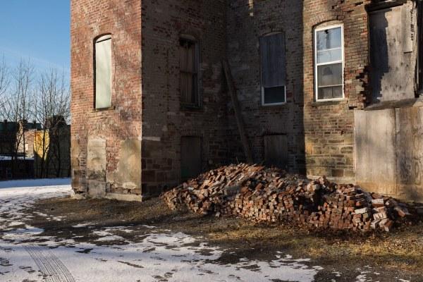 Pile of Bricks on Germain