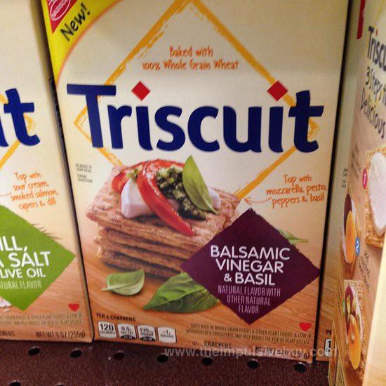 Nabisco Balsamic Vinegar & Basil Triscuit