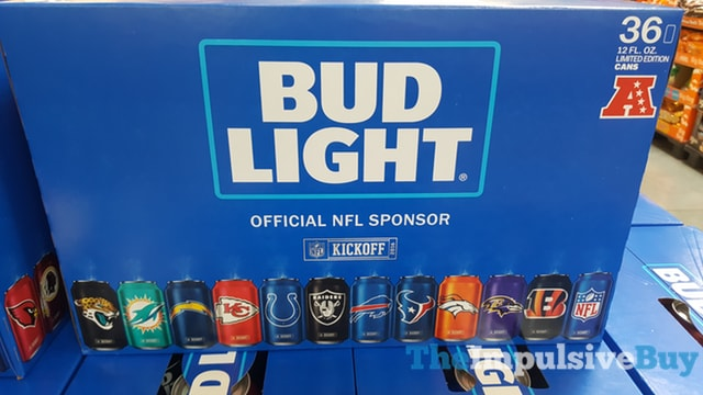 Bud Light NFL Limited Edition Cans
