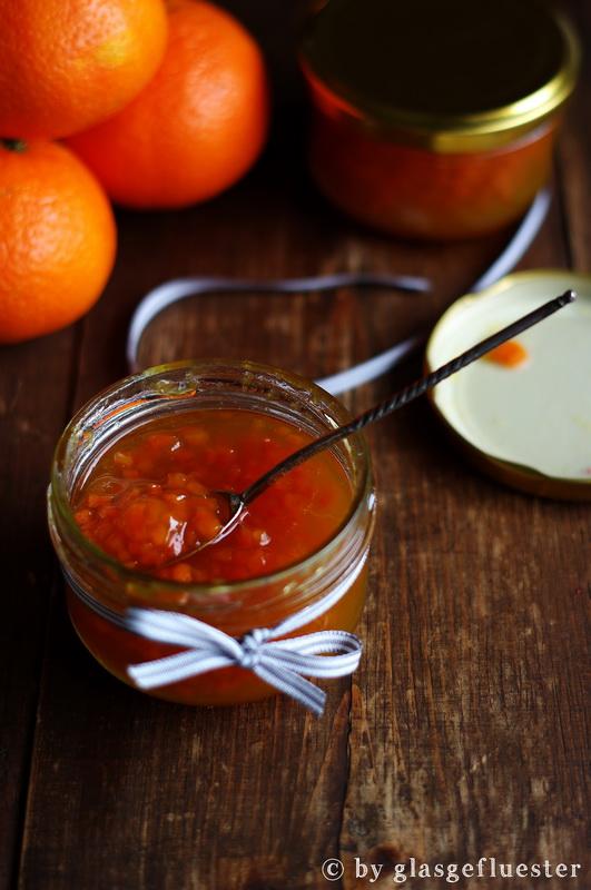 Clementine Karotte Kardamom Marmelade by Glasgeflüster 3 klein