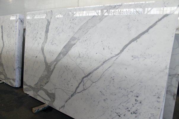 Statuario Marble Slab 123 x 77 3cm 1