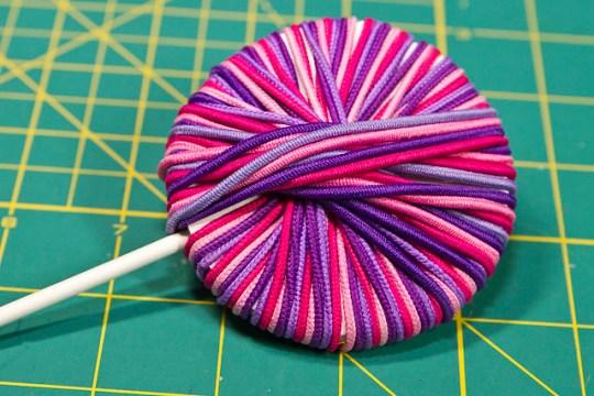 Hair Tie Lollipops