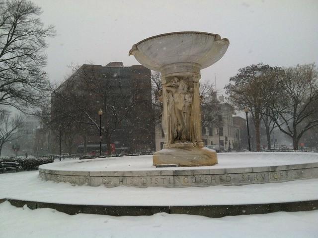 Dupont in snow