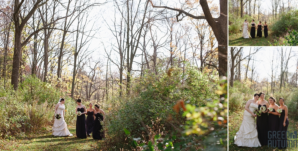 Battlefield Park Stoney Creek Halloween Wedding Photography