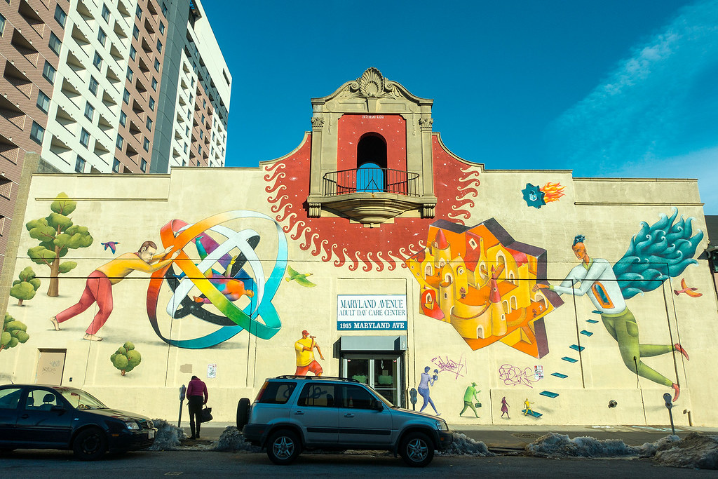 Maryland Ave Adult Center - Mural