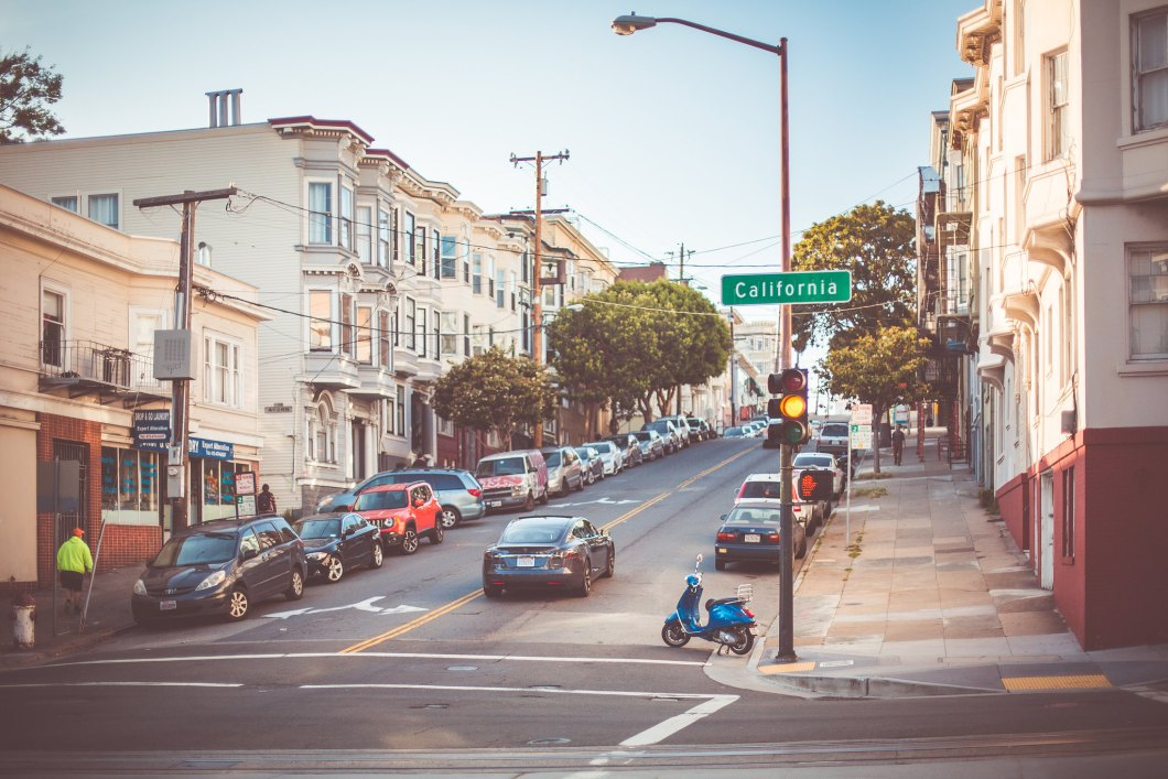 Imagen gratis de una calle en california
