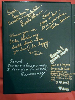 Sarah's yearbook