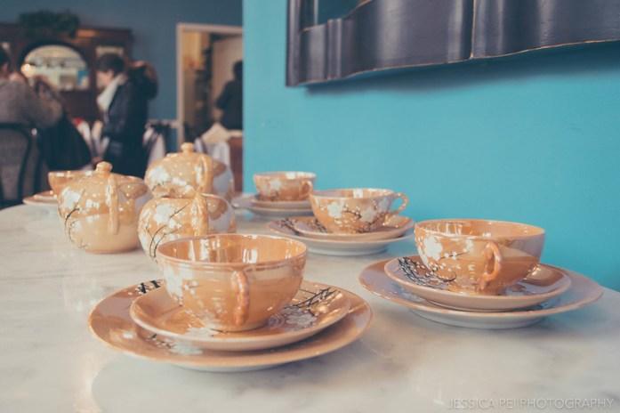 Afternoon Tea Set - London Tea Room St. Louis