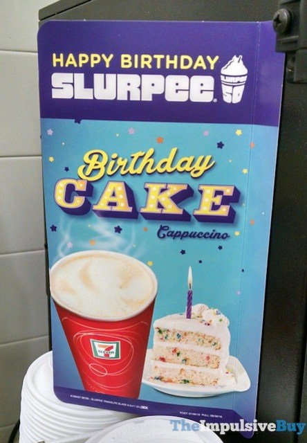 7-Eleven Birthday Cake Cappuccino