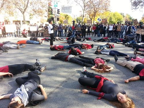 Ferguson Protest in Palo Alto: Stanford Students Shut It Down