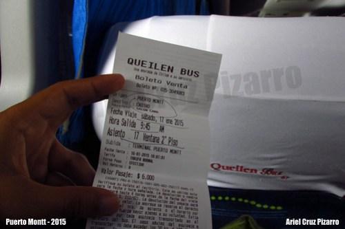Pasaje Bus - Queilen Bus