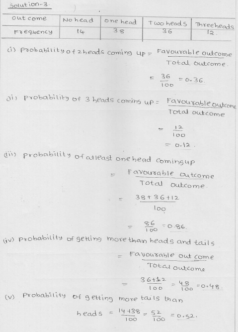 RD Sharma Class 9 Solutions Chapter 25 Probability 2