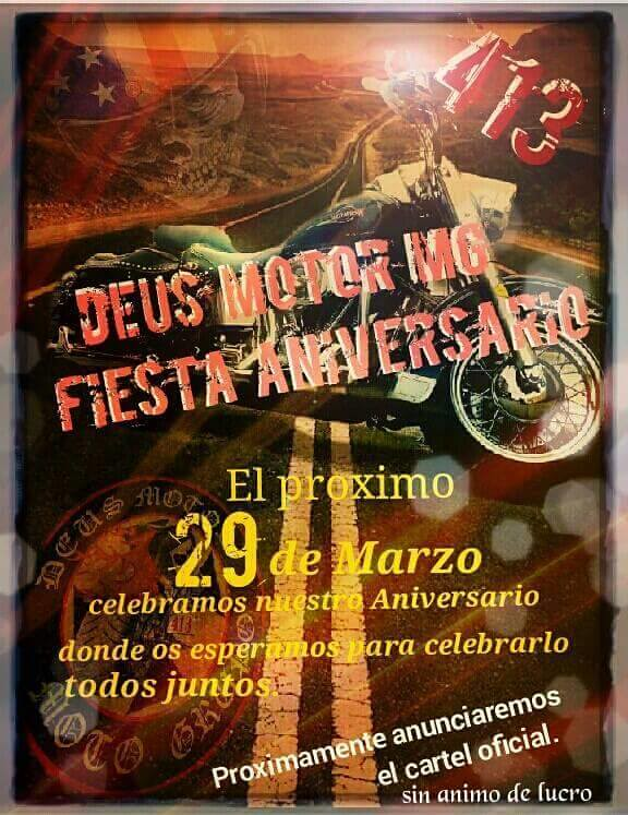 Fiesta Aniversario Deus Motor MG