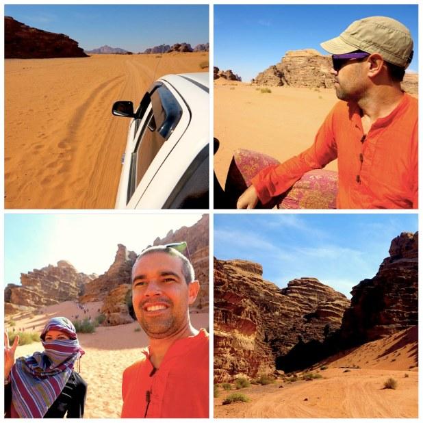 Wadi Rum el desierto de Jordania