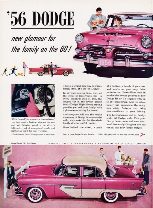 1956 Dodge Mayfair V-8 4-Door Sedan (Canada)
