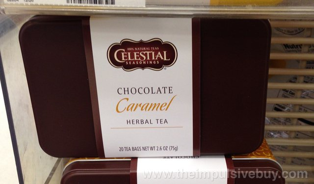 Celestial Seasonings Chocolate Caramel Herbal Tea