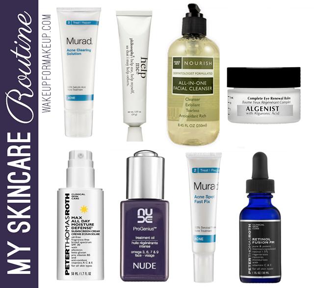 current skincare graphic