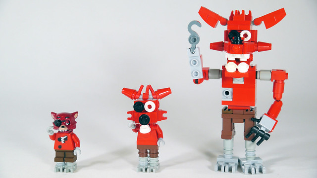 Dont Dare Take Your Eyes Off These Five Nights At Freddys LEGO Characters The Brothers