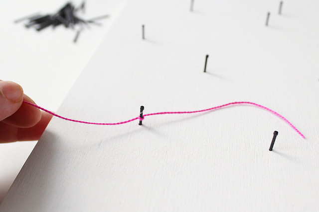 DIY geometric heart string art 08