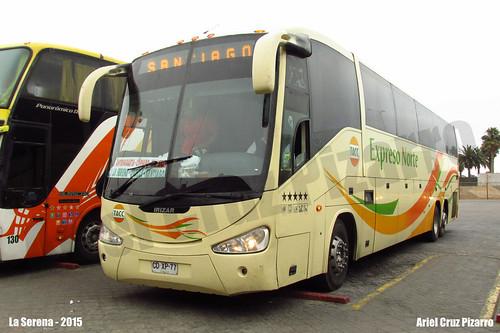 TACC Expreso Norte - La Serena (Chile) - Irizar Century 3.90 / Mercedes Benz (CDXP77)
