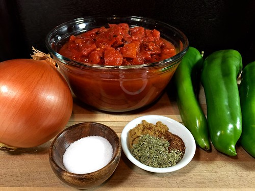 ingredients for the sauce