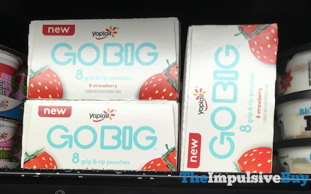 Yoplait Strawberry Go Big Yogurt